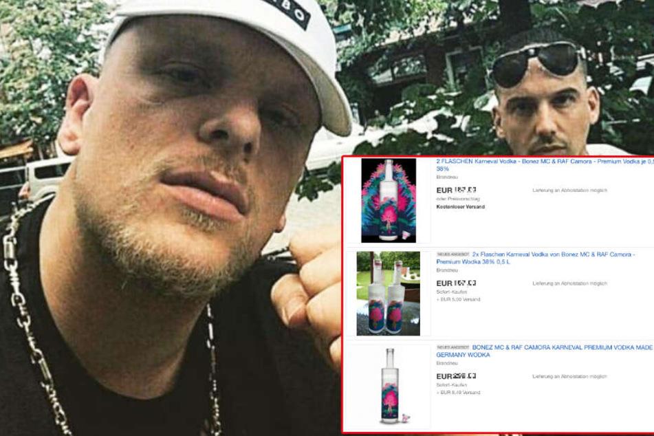 Abzocker nutzen Durst nach Wodka von Bonez MC & RAF Camora schamlos aus