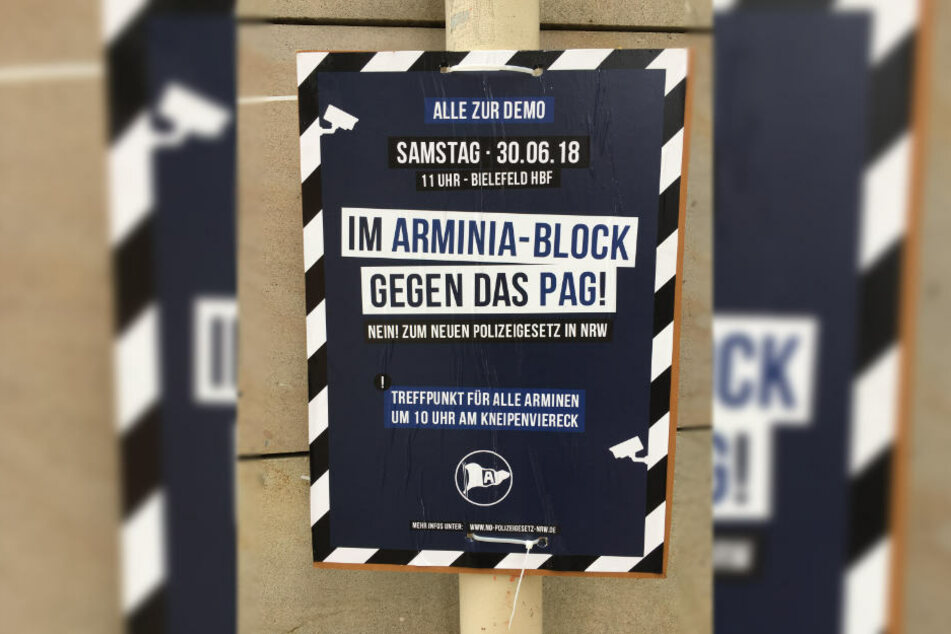 Auch Arminia-Fans werden sich an der Demo beteiligen.