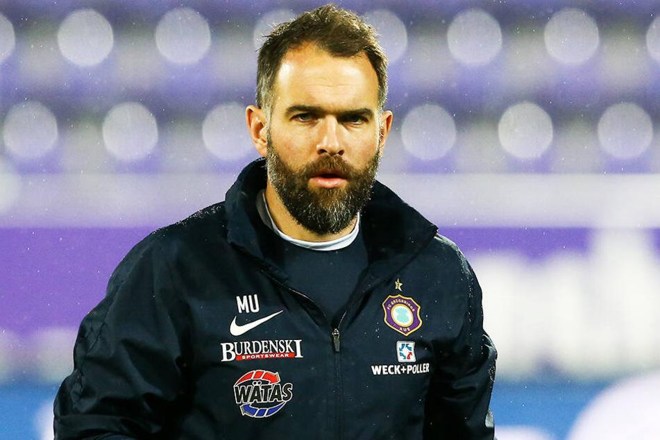 """Torwarttrainer Max Urwantschky hat eine ganz besondere Motivation für """"Paco""""."""