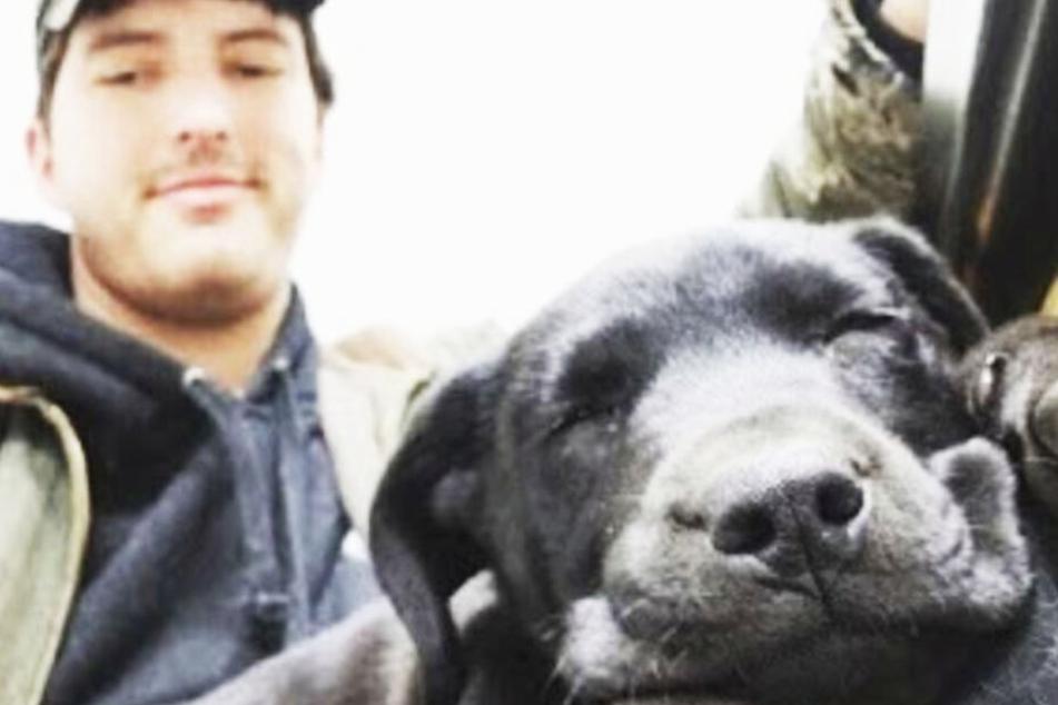 Tauber Hund wird von taubem Student adoptiert: Jetzt kann das Tier sogar Zeichensprache!