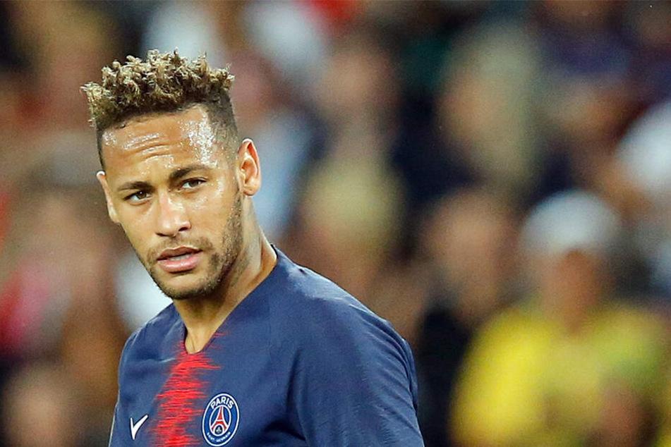 Neymar möchte sich wohl aus der Stadt der Liebe streiken.