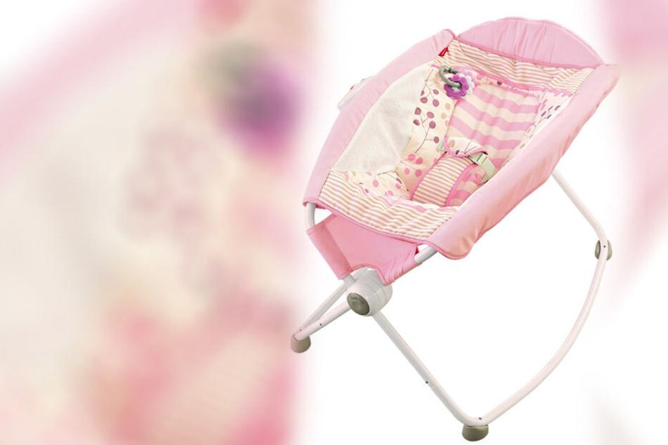 Diese Babywiege ist eine tödliche Gefahr: Mindestens 32 Babys starben schon aufgrund eines Unfalls mit dem Gerät.