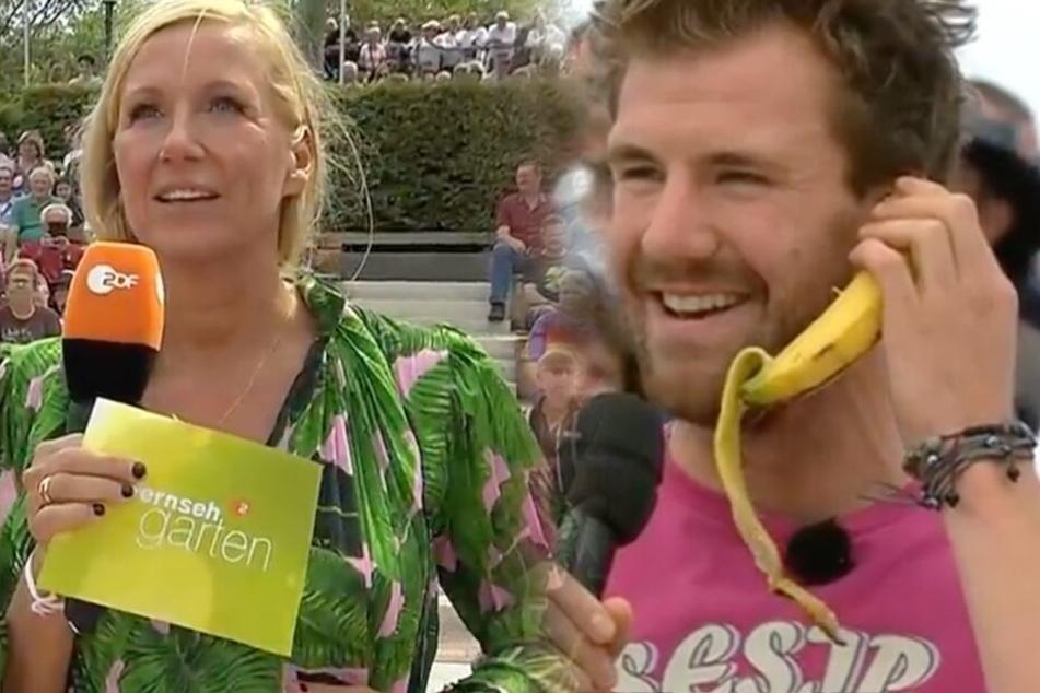 """Skandal-Auftritt im ZDF-Fernsehgarten: Hat nicht nur Luke Mockridge """"Kiwi"""" übel reingelegt?"""