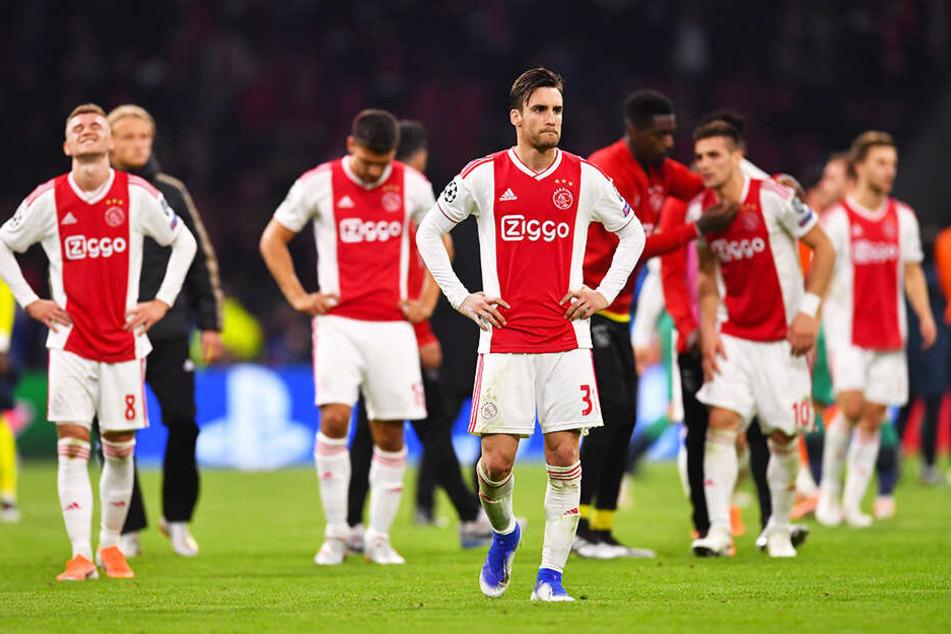 So bitter wie für Ajax Amsterdam war ein Ausscheiden aus dem Champions-League-Halbfinale selten.