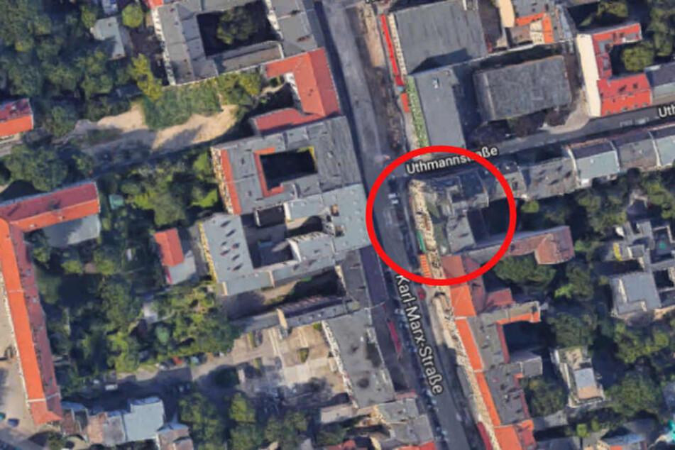 Der Standort auf der Karl-Marx-Straße 165 in Berlin Neukölln.