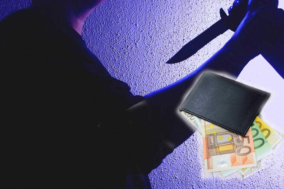 Die Unbekannten bedrohten den 14-jährigen mit einem Messer und nahmen ihm sein Bargeld ab. Danach verschwanden die Täter. (Symbolbild)