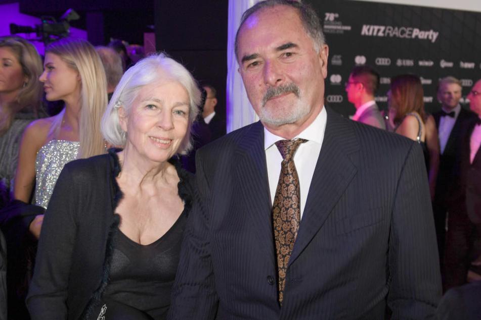 Bernd Pischetsrieder und seine Frau Doris bei der Kitz Race Club Party 2018. (Archivbild)