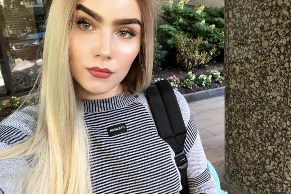 In einem ungewöhnlichen Blond zeigt sich Nathalie Volk auf Instagram.