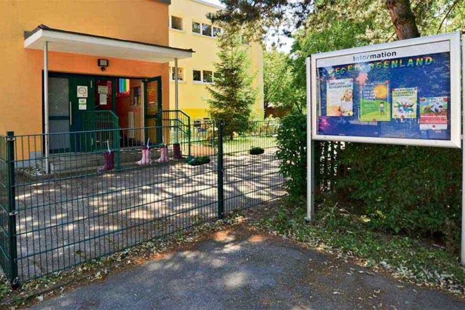 Die Kita in der Lutherstraße bekommt bald einen neuen Spielplatz.