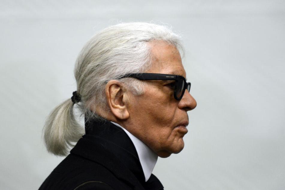 Modeschöpfer Karl Lagerfeld starb am Dienstag.