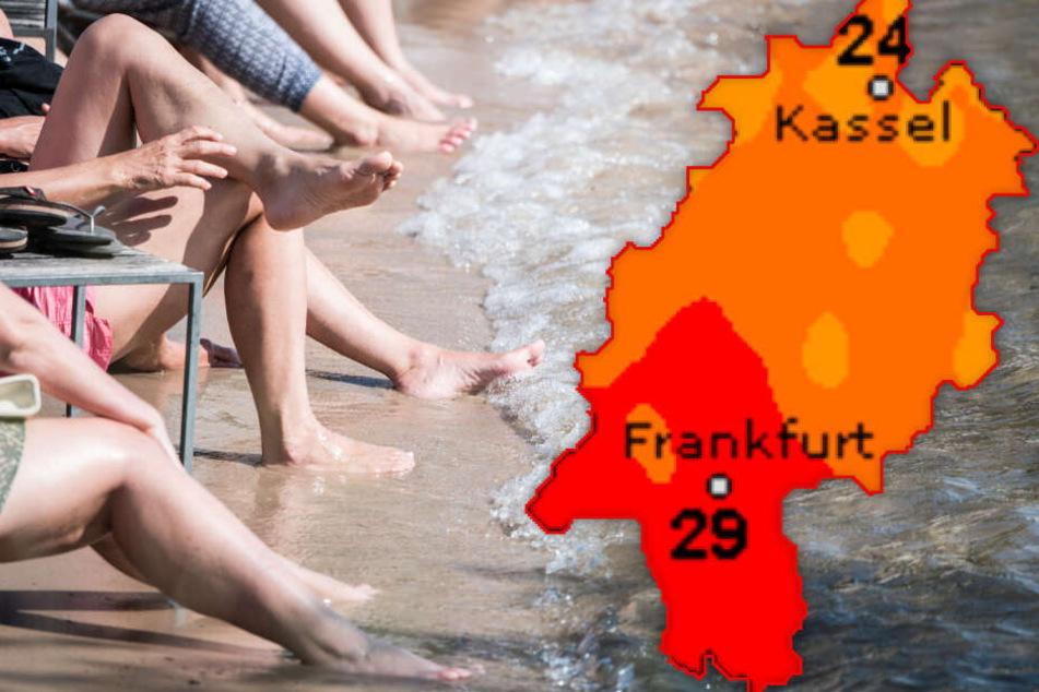 Sonnenanbeter aufgepasst! Das Wetter in Hessen ist (fast) wie für Euch gemacht