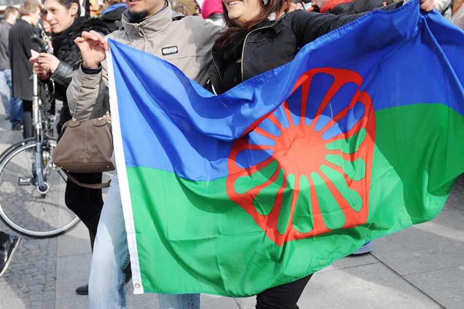 Diese Flagge sollen die Leipziger am 8. April vor ihren Häusern hissen.