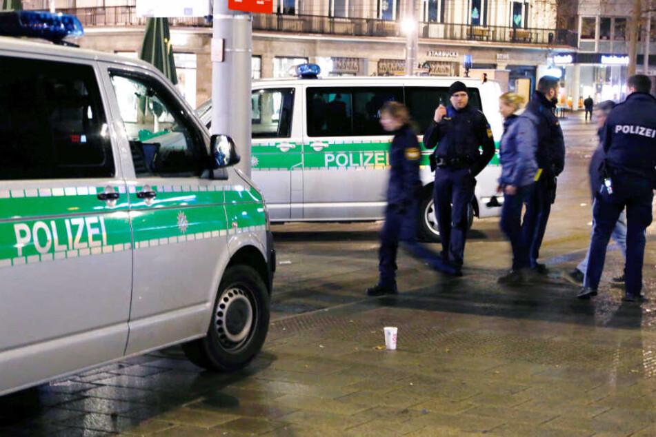 Die Polizei konnte nach der Tat alle sieben Verdächtigen schnell festnehmen.