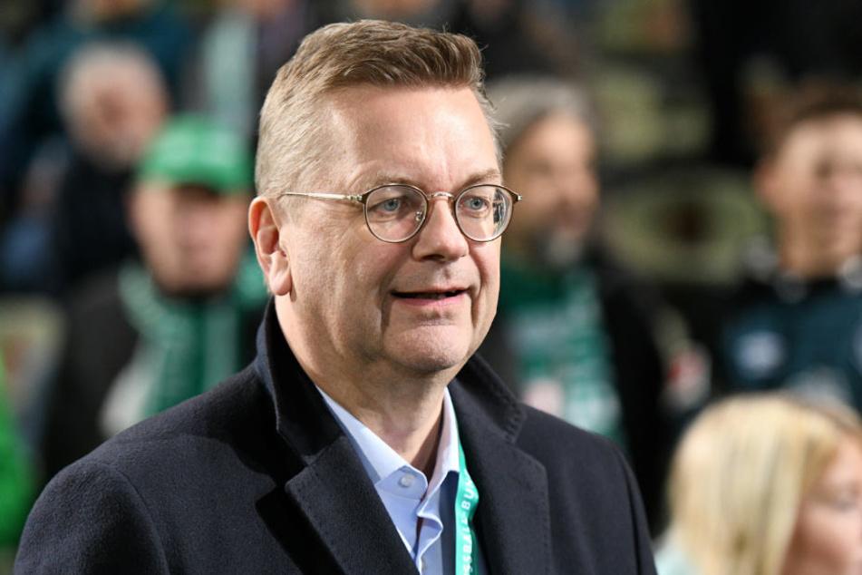 Reinhard Grindel möchte seine Regionalliga-Reform gerne durchbringen.