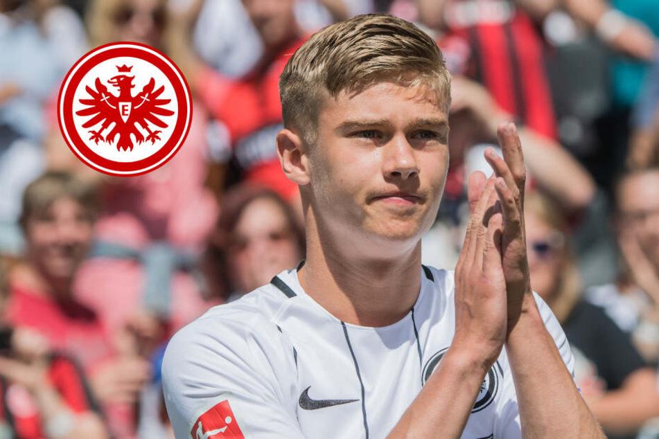 Eintracht Frankfurt trennt sich von Abwehrtalent Knothe