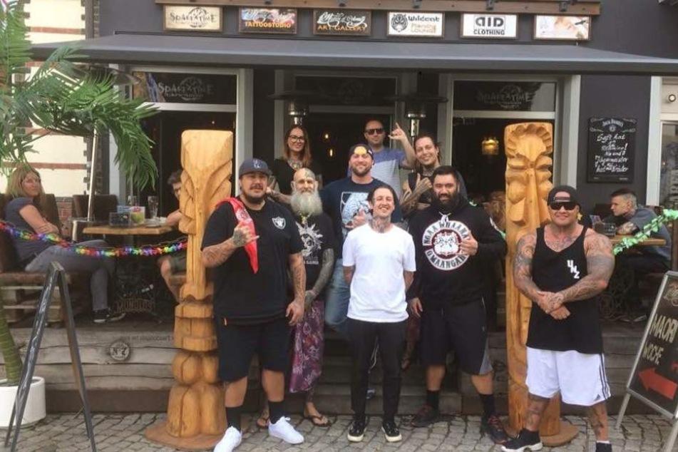 Echte Maoris tätowieren in Zwickau bei Randy Engelhard
