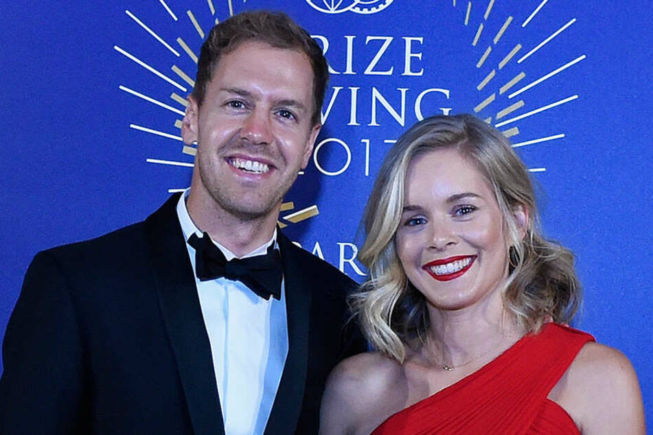 Sebastian Vettel (31) und seine Hanna (32) sind jetzt ein Ehepaar.