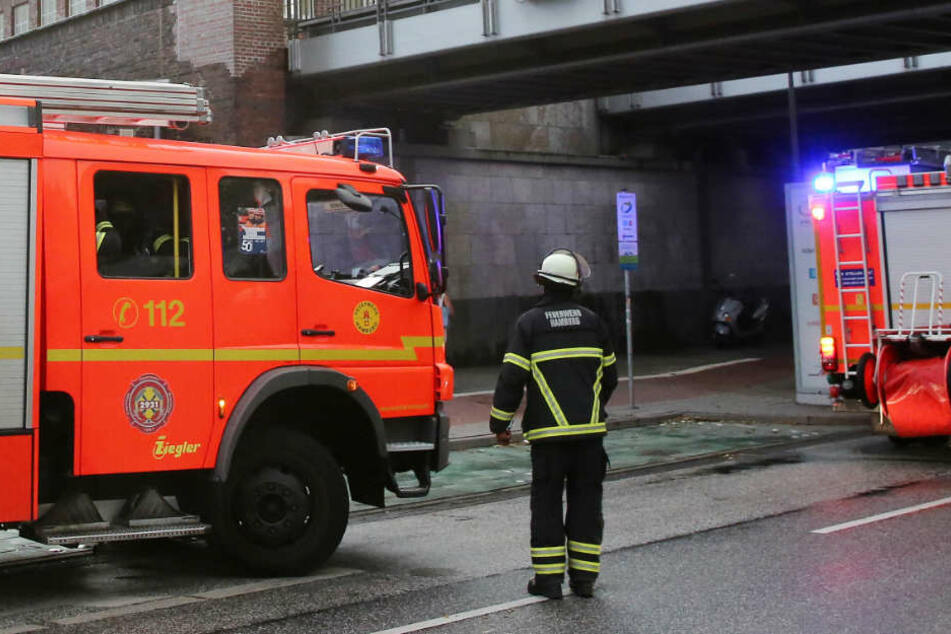Die Feuerwehr Hamburg musste einen kleinen Brand auf St. Pauli löschen (Symbolbild).