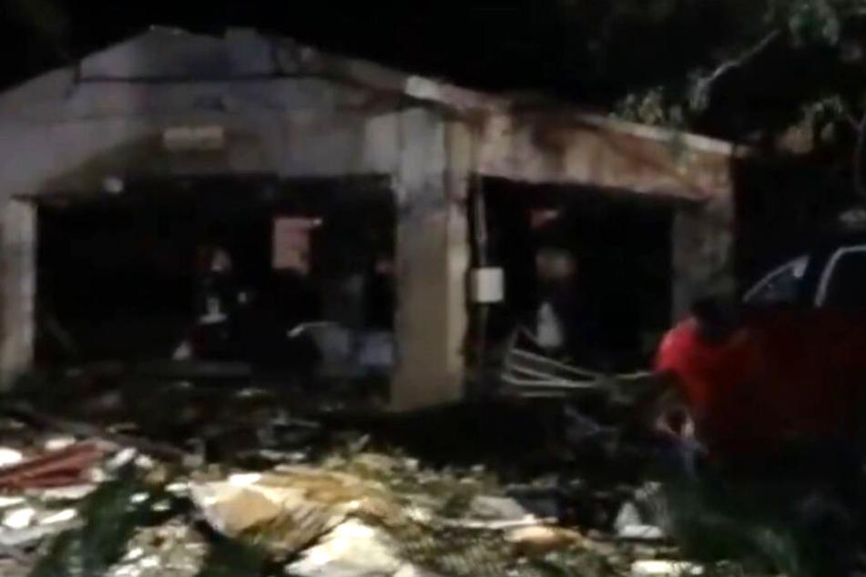Vier Personen ließen beim Explosions-Unglück ihr Leben.