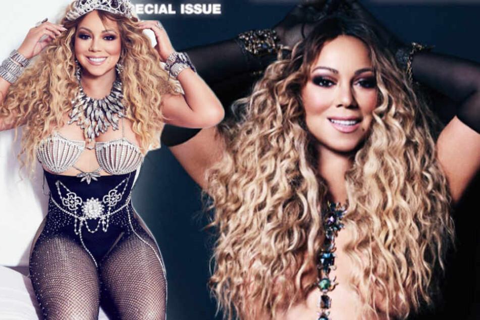 Mariah Carey zieht blank und kassiert einen Shitstorm