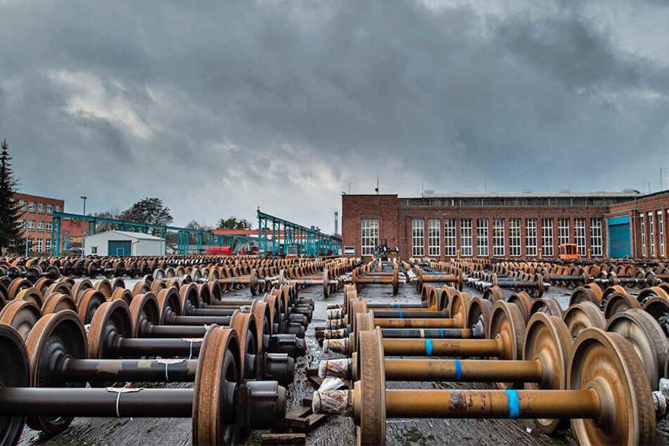 Das Eisenbahnwerk in Eberswalde gehörte auch der Quantum. Allerdings nur für drei Monate.