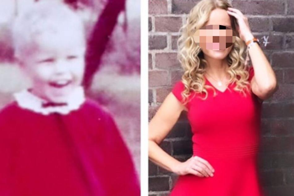 Rund 50 Jahre Unterschied: Welche Blondine zeigt hier ihr Kinderfoto?