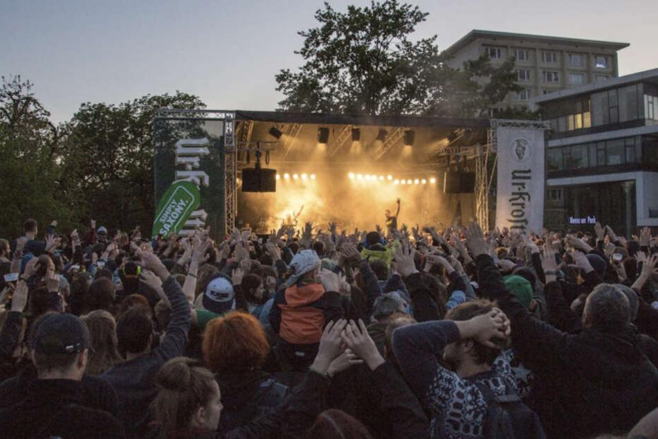 """Erst im April ging es beim """"Leipzig zeigt Courage""""-Fest auf der Moritzbastei hoch her."""