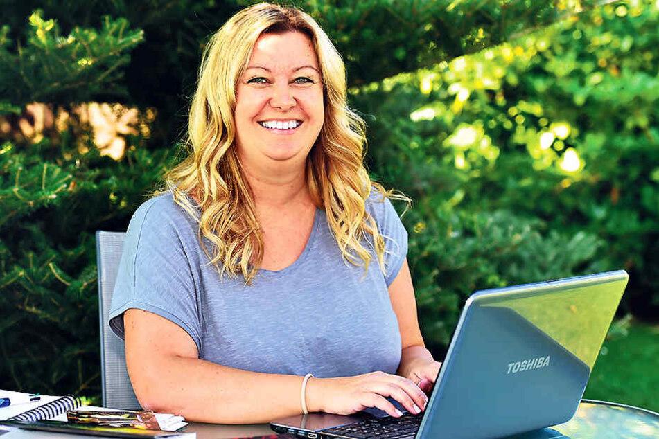 Die Fantasy-Fans reißen Chemnitzerin Nica Stevens (39) ihren neuen Roman quasi aus den Händen.