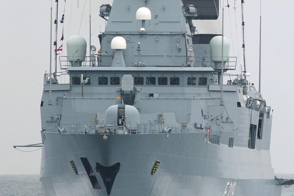 Die Fregatte Sachsen wird am Montag ins Mittelmeer verlegt - als Flaggschiff  einer NATO-Patrouille.