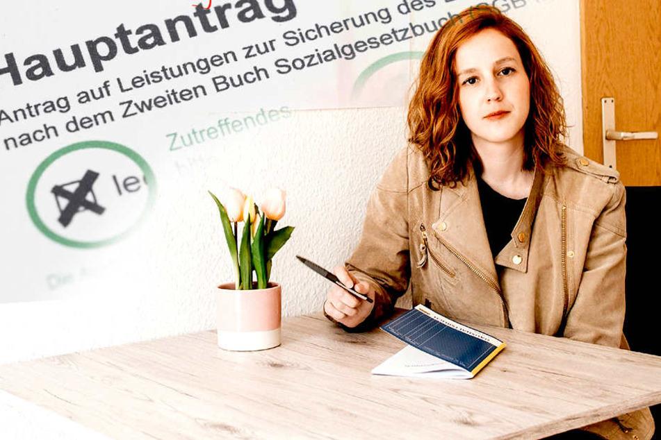 In Chemnitz: RTL-Reporterin muss von Hartz IV leben