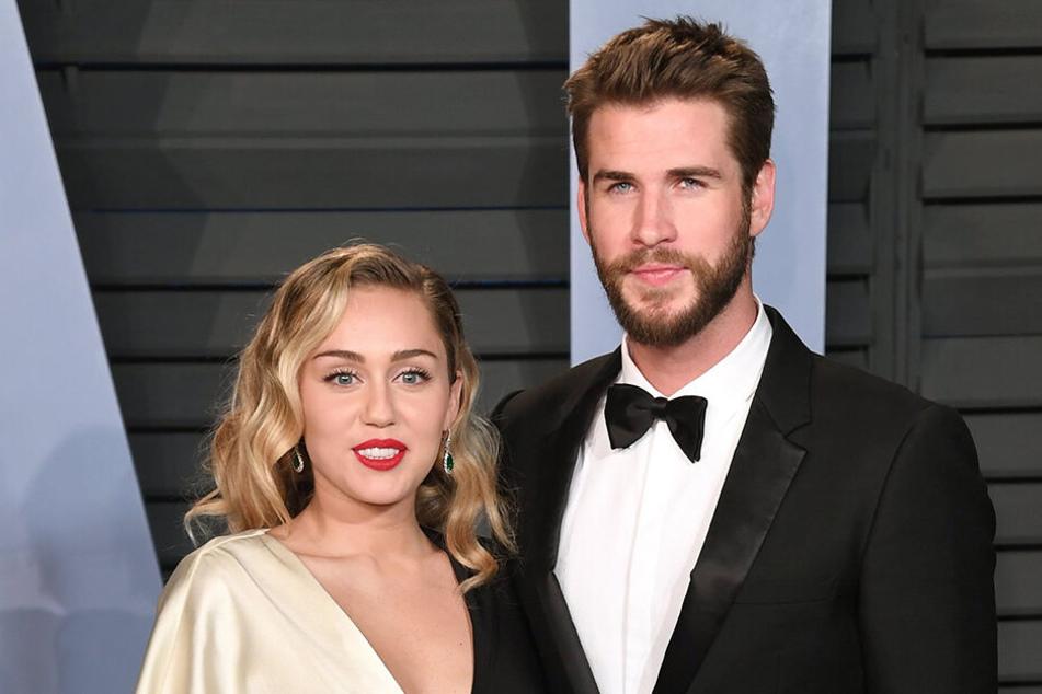 Seit Dezember verheiratet: Miley Cyrus und Liam Hemsworth.