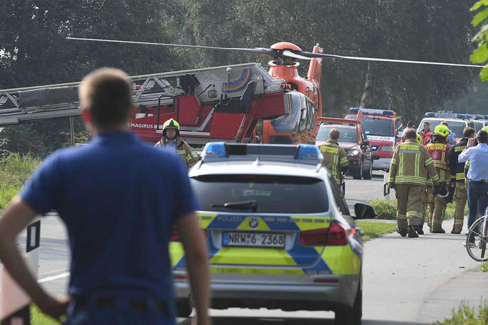 Vermeintlicher Flugzeugabsturz löst Großeinsatz aus