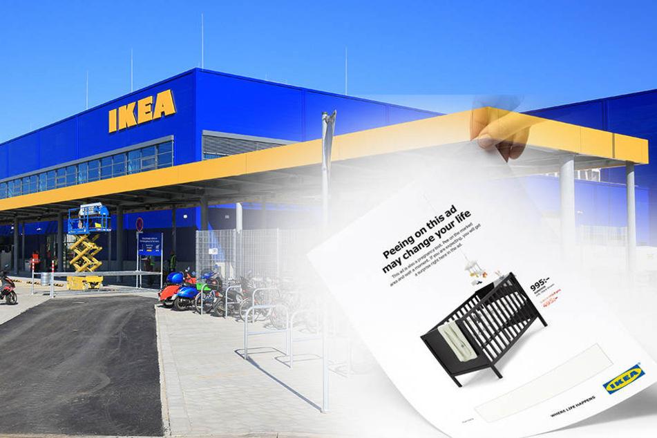 Warum Frauen unbedingt auf diese Ikea-Werbung pinkeln sollten!