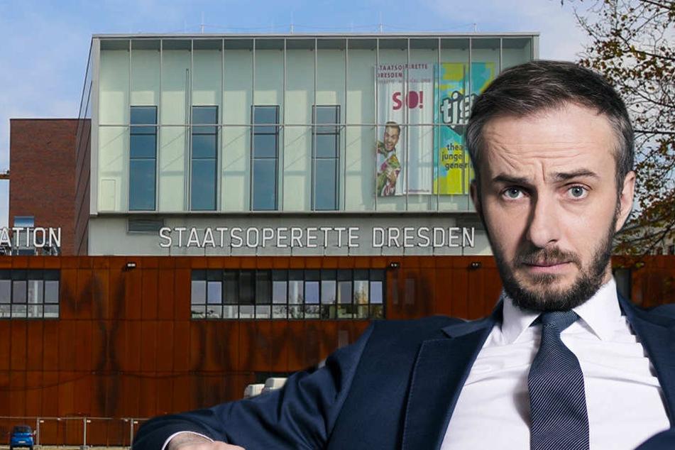 Schusssicher! Böhmermann zieht mit seinem TV-Studio nach Dresden