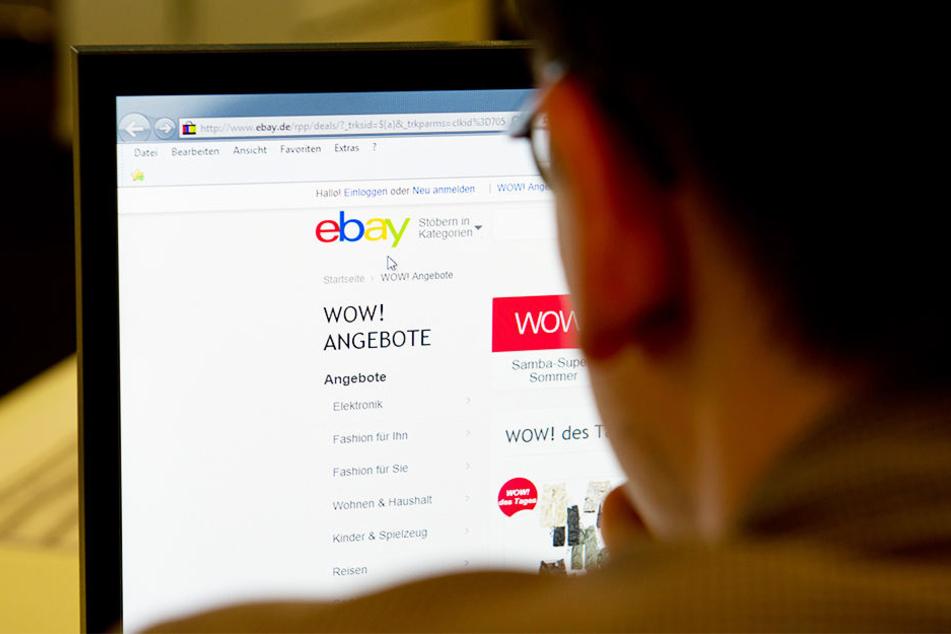 Dumm gelaufen! Die betrügerischen eBay-Verkäufe des Häftlings flogen am Ende auf. (Symbolbild)