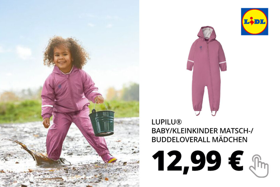 Matsch-/Buddeloverall für Mädchen