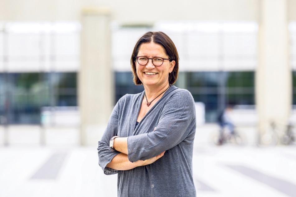 Die Schulleiterin des Gymnasiums Tolkewitz: Ulrike Böhm (50).