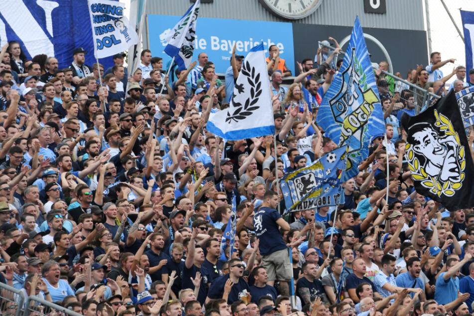 Das dürfte die Löwen-Fans freuen: Der TSV 1860 steht in der Hauptrunde des DFB-Pokals. (Archiv)