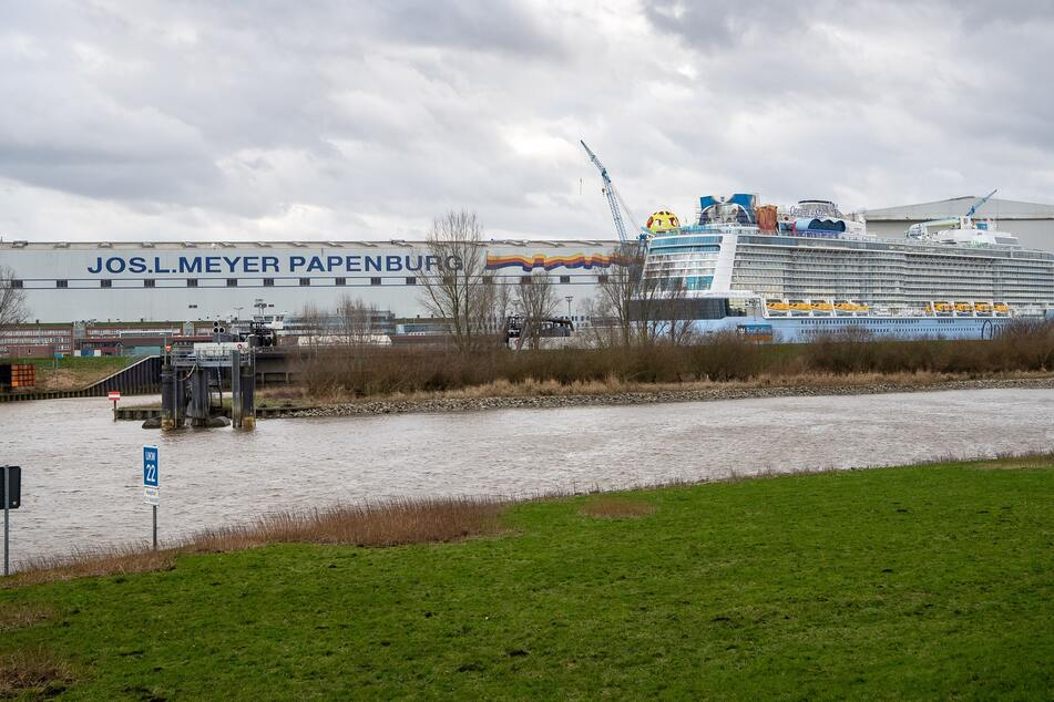 "Neuer Ozeanriese ""Odyssey of the Seas"" tritt Weg zur Nordsee an"