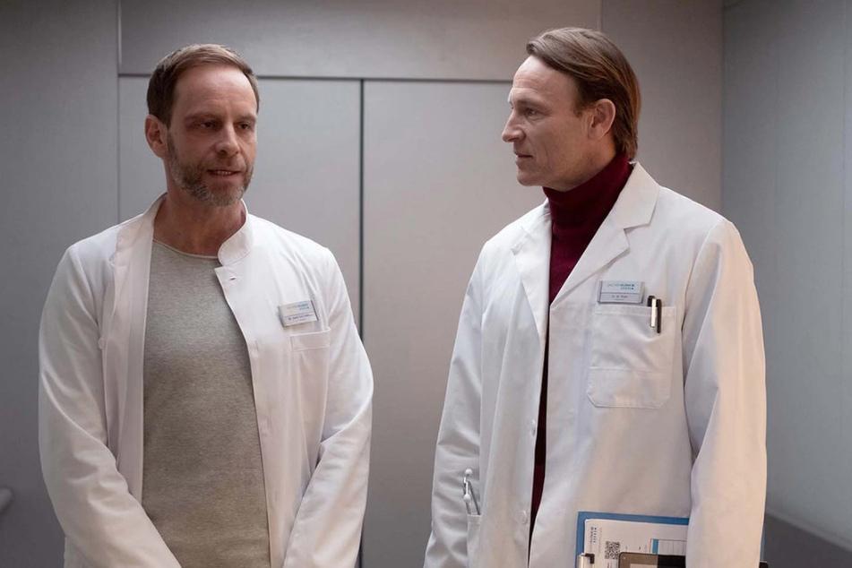 Dr. Kai Hoffmann und Dr. Martin Stein versuchen irgendwie, miteinander klarzukommen.