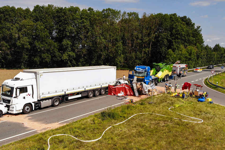 An einer Baustelle auf der Bundesstraße 286 kam es am Dienstag zu einem tödlichen Unfall.