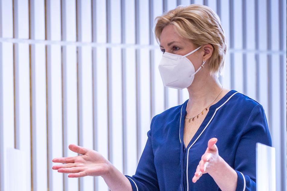 Mecklenburg-Vorpommerns Ministerpräsidentin Manuela Schwesig (46, SPD).