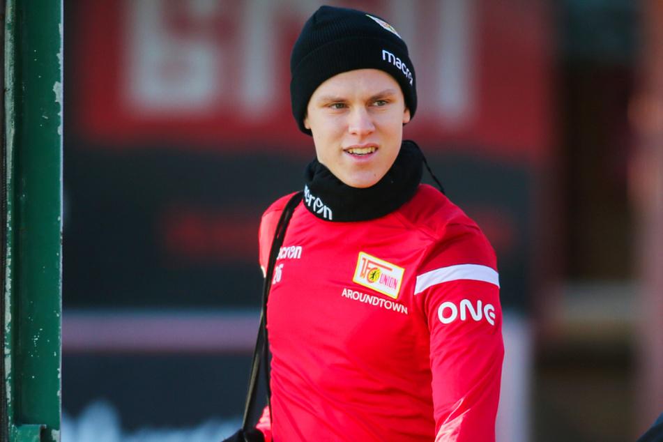 Julius Kade konnte sich beim 1. FC Union Berlin nicht durchsetzen und verlässt die Eisernen wohl ohne einen einzigen Einsatz wieder.