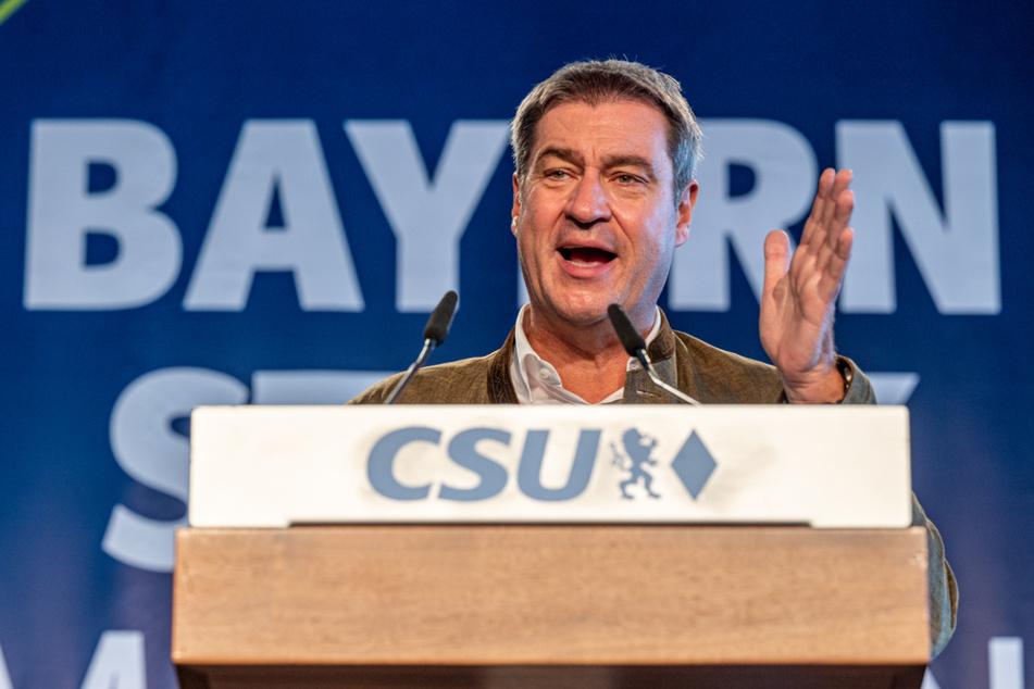 Markus Söder (54, CSU), Ministerpräsident von Bayern, wäre beinahe Unions-Spitzenkandidat geworden, überließ Laschet dann aber den Vortritt.