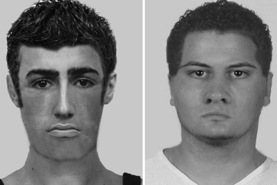 Mit diesen Phantombildern sucht die Polizei nach den Betrügern.