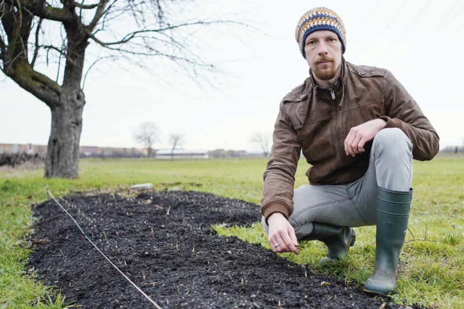 Keine Konzerte, dafür Arbeit als Gärtner: Musiker schafft sich zweites Standbein