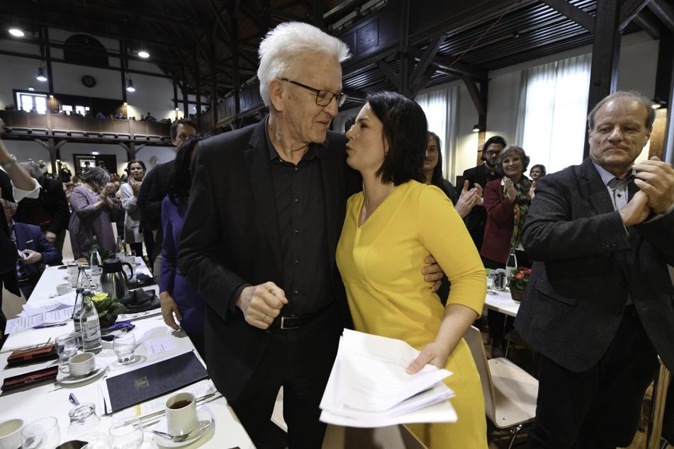 Grünen-Kanzlerkandidatin Annalena Baerbock (40) müsse Kretschmann zufolge nun ihr persönliches Profil weiter schärfen.