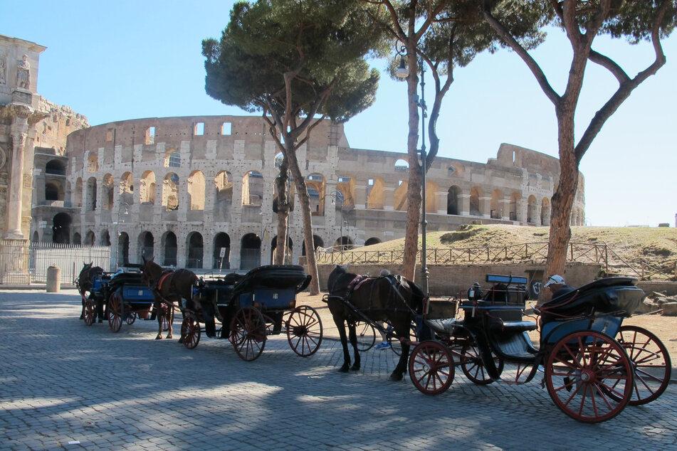Die Zahl der ausländischen Touristen in Italiens Hauptstadt ist wegen der Corona-Pandemie extrem niedrig