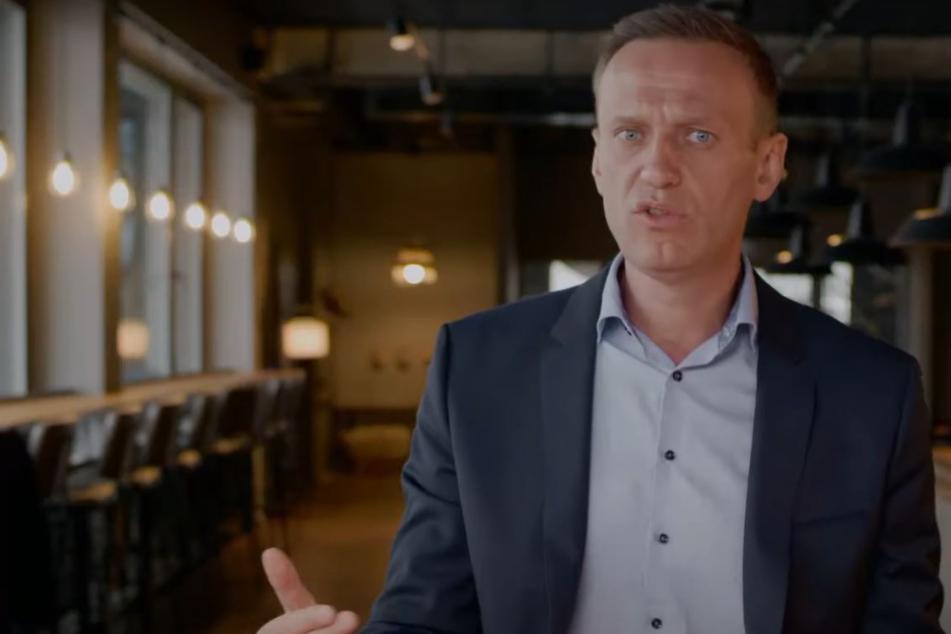 Alexej Nawalny in dem Video.