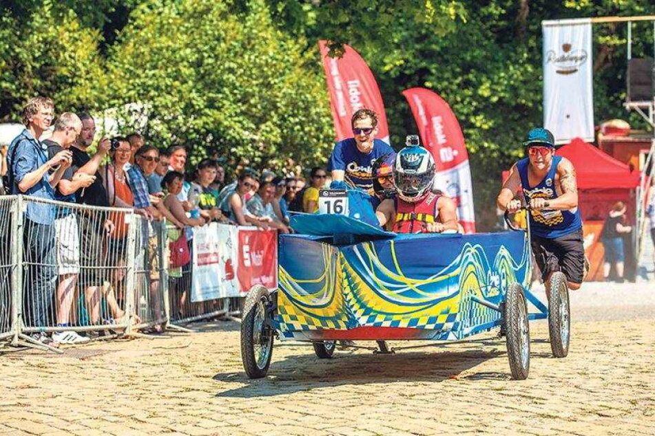 Saloppe-Seifenkistenrennen: Hier wird Schmerz zur Lust